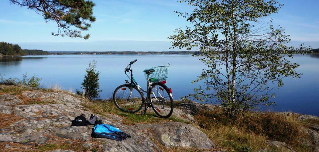 Sommar och cykelutflykt i Lysekil