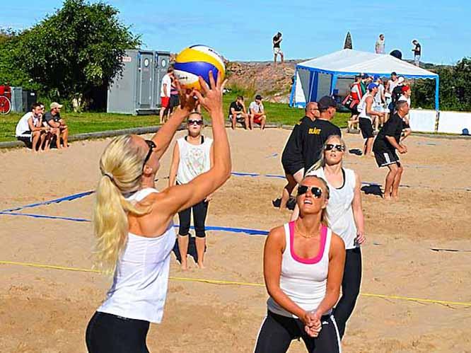Beach volleyball i Lysekil - Volleyboll i Ålevik