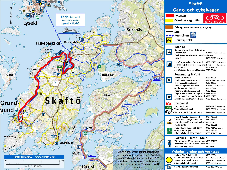 Cykla på Skaftö