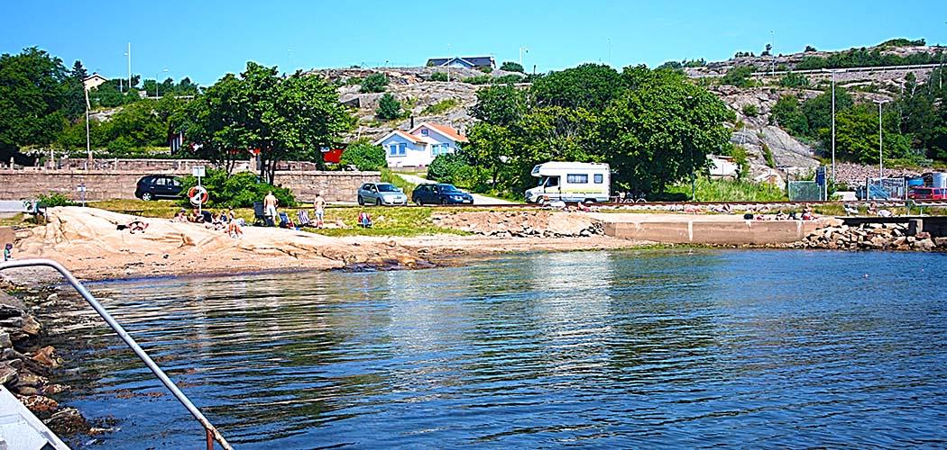 Fridhems badplats i Lysekil