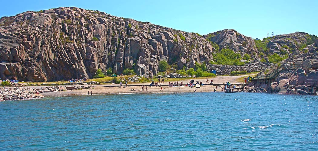 Långeviks Badplats i Lysekil