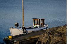 Mussel och ostron turbåt