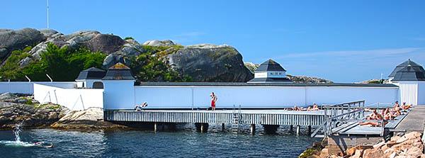 Badplatser i Lysekil