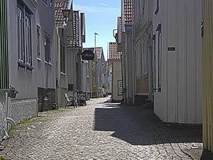 Gamlestan i Lysekil
